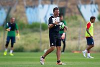 Getafe CF's Physical trainer Javier Vidal during training session. August 1,2017.(ALTERPHOTOS/Acero) /NortePhoto.com