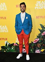 "01 August 2019 - Los Angeles, California - D.J. Blickenstaff. Netflix's ""Dear White People"" Season 3 Los Angeles Premiere held at TRegal Cinemas LA Live. Photo Credit: Birdie Thompson/AdMedia"