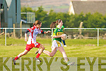 Kerry's Aisling Leonard and Tyrone's Grainne Kelly.