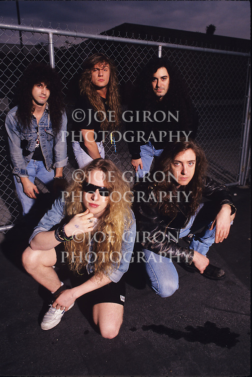 Various portrait sessions of the rock band, Steelheart