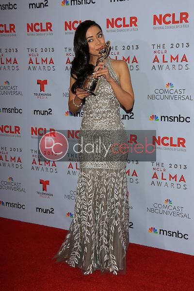 Aimee Garcia<br /> at the 2013 NCLR ALMA Awards Press Room, Pasadena Civic Auditorium, Pasadena, CA 09-27-13<br /> David Edwards/Dailyceleb.com 818-249-4998
