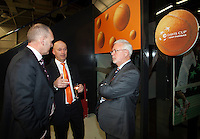 08-02-12, Netherlands,Tennis, Den Bosch, Daviscup Netherlands-Finland, Official Dinner,