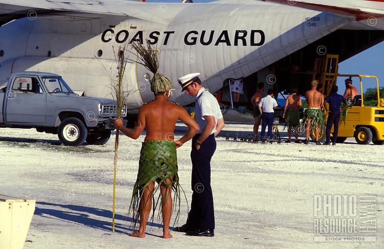 Changing of the Guard-the Coast Guard-at Kure Atoll