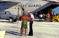 Changing of the Guard-the Coast Guard-at Kure Atoll
