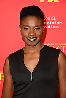 """HOLLYWOOD - JANUARY 8: Adina Porter attends the Red Carpet Premiere Event for FX's """"The Assassination of Gianni Versace: American Crime Story"""" at ArcLight Hollywood on January 8, 2018, in Hollywood, California. (Photo by Scott Kirkland/FX/PictureGroup)"""