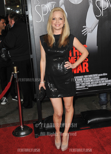 "Marisa Coughlan at the Los Angeles premiere of ""This Means War"" at Grauman's Chinese Theatre, Hollywood..February 8, 2012  Los Angeles, CA.Picture: Paul Smith / Featureflash"