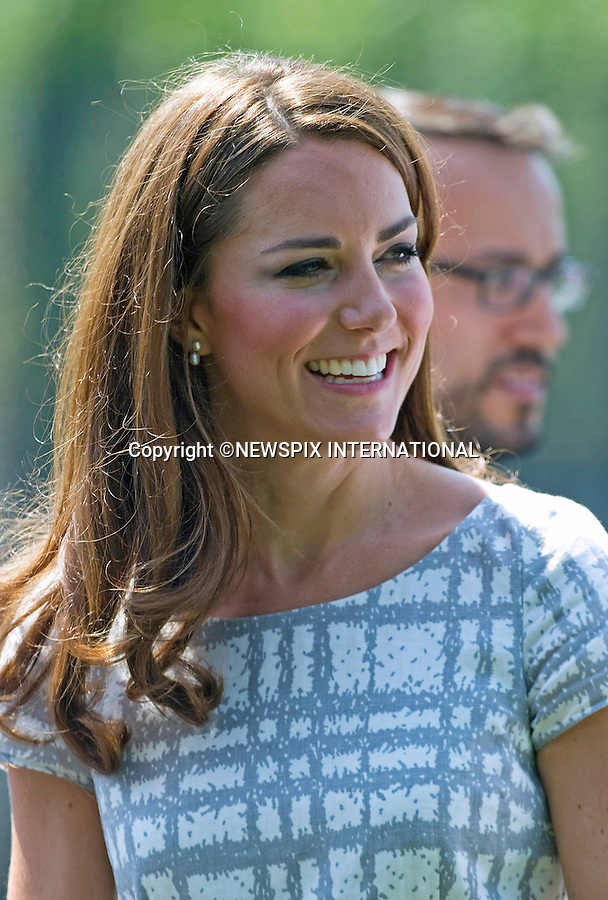"CATHERINE, DUCHESS OF CAMBRIDGE.attends the sports-themed event, to launch the Coach Core programme, a partnership between their Foundation and Greenhouse at Bacon's College, South London_26/07/2012.Mandatory credit photo: ©Dias/NEWSPIX INTERNATIONAL..(Failure to credit will incur a surcharge of 100% of reproduction fees)..                **ALL FEES PAYABLE TO: ""NEWSPIX INTERNATIONAL""**..IMMEDIATE CONFIRMATION OF USAGE REQUIRED:.Newspix International, 31 Chinnery Hill, Bishop's Stortford, ENGLAND CM23 3PS.Tel:+441279 324672  ; Fax: +441279656877.Mobile:  07775681153.e-mail: info@newspixinternational.co.uk"