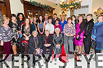 Oxfam shop Volunteers enjoying their christmas party in the Imperial Hotel on Saturday. Pictured   Front l-r Eileen Hanlon, Sherry Harris, Kathleen Rogers, Peggy O'Keeffe, Hilda Stacy.  Back l-r Ann Lacy, Patricia Crowe, Iren Okumbor, Mary Eager, Jada Gorman, Helena Linnane, Melissa O'Regan, Pat Herlihy, Sean Gleasure, Kay Walsh, Ann C. Brosnan, Linda Rogers, Kay O'Connor, Carmel Brosnan, Nora Casey