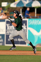 South Bend Silver Hawks third baseman Bobby Borchering (8) during a game vs. the West Michigan Whitecaps at Fifth Third Field in Comstock Park, Michigan August 16, 2010.   West Michigan defeated South Bend 3-2.  Photo By Mike Janes/Four Seam Images