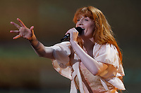 Pictured: Florence Welch of Florence And The Machine. Sunday 27 May 2018<br /> Re: BBC Radio 1 Biggest Weekend at Singleton Park in Swansea, Wales, UK.