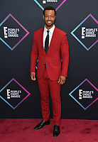 LOS ANGELES, CA. November 11, 2018: Isaiah Mustafa at the E! People's Choice Awards 2018 at Barker Hangar, Santa Monica Airport.<br /> Picture: Paul Smith/Featureflash