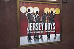 Jersey Boys theatre poster, London, England, 2008