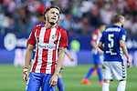 Atletico de Madrid's Saul Iniguez during the match of La Liga Santander between Atletico de Madrid and Deportivo Alaves at Vicente Calderon Stadium. August 21, 2016. (ALTERPHOTOS/Rodrigo Jimenez)