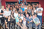 Birthday Boy - Chris Foley from St. John's Park, seated centre having a ball with family and friends at his 21st birthday bash held in The Greyhound Bar on Saturday night................. ............   Copyright Kerry's Eye 2008