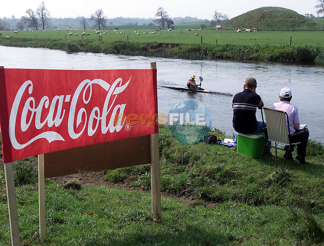 The Silverbridge Boyne Marathon Kayak Race on the River Boyne which was sponsered by Drogheda Concentrates..Picture Paul Mohan Newsfile