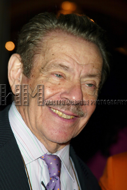 Jerry Stiller Attending The American Theatre Wing's Annual Luncheon at the Pierre Hotel, New York City.<br />