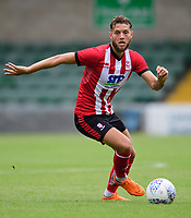 Lincoln City's Jorge Grant<br /> <br /> Photographer Chris Vaughan/CameraSport<br /> <br /> Football Pre-Season Friendly - Lincoln City v Sheffield Wednesday - Saturday July 13th 2019 - Sincil Bank - Lincoln<br /> <br /> World Copyright © 2019 CameraSport. All rights reserved. 43 Linden Ave. Countesthorpe. Leicester. England. LE8 5PG - Tel: +44 (0) 116 277 4147 - admin@camerasport.com - www.camerasport.com