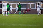 03.12.2017, Platz 11, Bremen, GER, DFB Pokal der Frauen, Achtelfinale, SV Werder Bremen vs SGS Essen, <br /> <br /> im Bild | picture shows<br /> Turid Knaak (SGS Essen #33) trifft per Strafstoss zur 1:0 F&uuml;hrung f&uuml;r die SGS, <br /> <br /> Foto &copy; nordphoto / Rauch