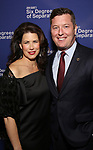Melissa Fitzgerald and Patrick Murphy attends the Opening Night Performance of 'Six Degrees Of Separation' at the Barrymore Theatre on April 25, 2017 in New York City.