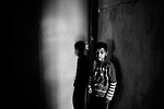 Seiyad (9 years old) lives in a shelter since 3 years old cause his parents couldn't afford taking care of him. His parents never visited him since then. Ganja, Azerbaijan. 2011.( from Hometown project.)