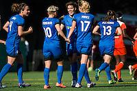 Seattle, Washington - Sunday, June 12, 2016: Seattle Reign FC midfielder Keelin Winters (11) during a regular season National Women's Soccer League (NWSL) match at Memorial Stadium. Seattle won 1-0.
