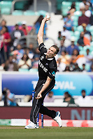 Tim Southee (New Zealand) in action during India vs New Zealand, ICC World Cup Warm-Up Match Cricket at the Kia Oval on 25th May 2019