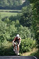 08 JUL 2007 - WAKEFIELD, GBR - Jim Burdett - British Age Group Triathlon Championships. (PHOTO (C) NIGEL FARROW)
