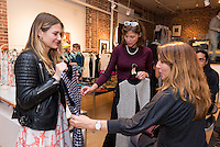 Kamila Dmowska Holiday Trunk Show on Dec. 6, 2015 (Photo by Alex Akamine/Guest of a Guest)
