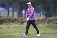 Nicolas Colsaerts (BEL) on the 2nd during Round 2 of the Sky Sports British Masters at Walton Heath Golf Club in Tadworth, Surrey, England on Friday 12th Oct 2018.<br /> Picture:  Thos Caffrey | Golffile<br /> <br /> All photo usage must carry mandatory copyright credit (&copy; Golffile | Thos Caffrey)