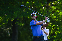 Adam Scott (AUS) watches his tee shot on 12 during round 2 of the Fort Worth Invitational, The Colonial, at Fort Worth, Texas, USA. 5/25/2018.<br /> Picture: Golffile | Ken Murray<br /> <br /> All photo usage must carry mandatory copyright credit (&copy; Golffile | Ken Murray)