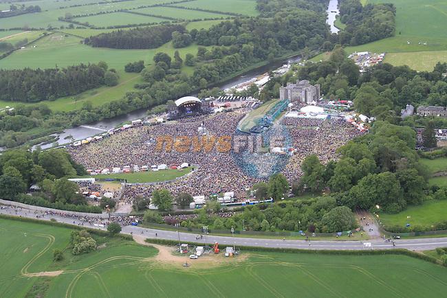 Kings of Leon concert at Slane Castle..Picture Fran Caffrey/www.newsfile.ie