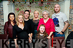 SFX Fitness Boot Camp members enjoyed a night out at Cassidy's restaurant, Tralee on Friday night last, l-r: Sabrina Caffrey, Kim Enright, Sheena Sexton, Oonagh Ferris, Selena Britt, Chloe McElligott and David McElligott.