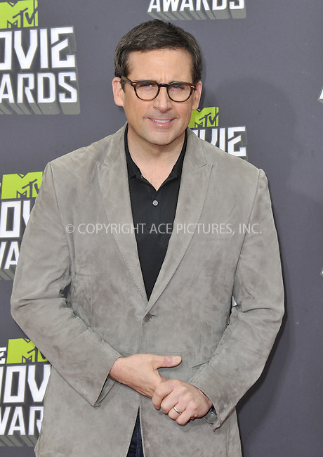 WWW.ACEPIXS.COM....April 14 2013, LA......Steve Carell arriving at the 2013 MTV Movie Awards at Sony Pictures Studios on April 14, 2013 in Culver City, California. ....By Line: Peter West/ACE Pictures......ACE Pictures, Inc...tel: 646 769 0430..Email: info@acepixs.com..www.acepixs.com