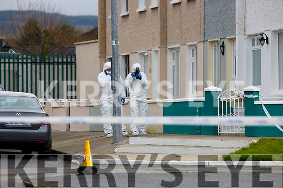 The scene of a serious assault in St Stephens Park Castleisland on Sunday morning