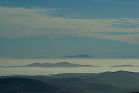 A cloud inversion over the Solway Firth from Cairnsmore of Fleet, Galloway<br /> <br /> Copyright www.scottishhorizons.co.uk/Keith Fergus 2011 All Rights Reserved
