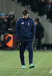 Tottenham's Mauricio Pochettino looks on dejected during the Premier League match at the London Stadium, London. Picture date: May 5th, 2017. Pic credit should read: David Klein/Sportimage
