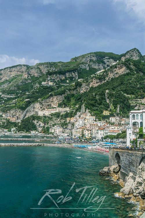 Europe, Italy, Amalfi Coast, Amalfi