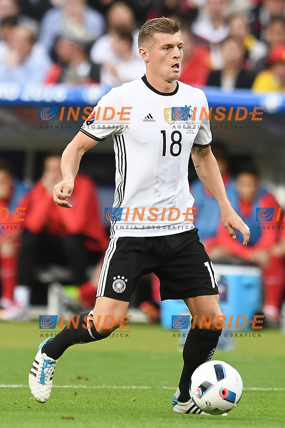 Toni Kroos <br /> Paris 16-06-2016 Stade de France Football Euro2016 Germany - Poland / Germania - Polonia Group Stage Group C. Foto Matteo Gribaudi / Insidefoto / Insidefoto