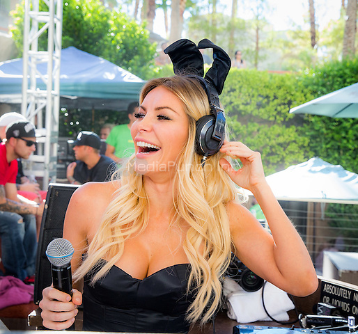 LAS VEGAS, NV - September 19: ***HOUSE COVERAGE*** Crystal Hefner DJ set at REHAB Pool Party at Hard Rock Hotel & Casino  in Las Vegas, NV on September 19, 2015. Credit: Erik Kabik Photography/ MediaPunch