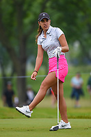 Maria Fassi (MEX) watches her tee shot on 12 during round 4 of the KPMG Women's PGA Championship, Hazeltine National, Chaska, Minnesota, USA. 6/23/2019.<br /> Picture: Golffile | Ken Murray<br /> <br /> <br /> All photo usage must carry mandatory copyright credit (© Golffile | Ken Murray)