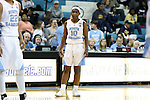 16 February 2017: North Carolina's Jamie Cherry. The University of North Carolina Tar Heels hosted the Ramblin' Wreck from Georgia Tech University at Carmichael Arena in Chapel Hill, North Carolina in a 2016-17 NCAA Division I Women's Basketball game. North Carolina won the game 89-88.