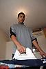 Youth ironing,