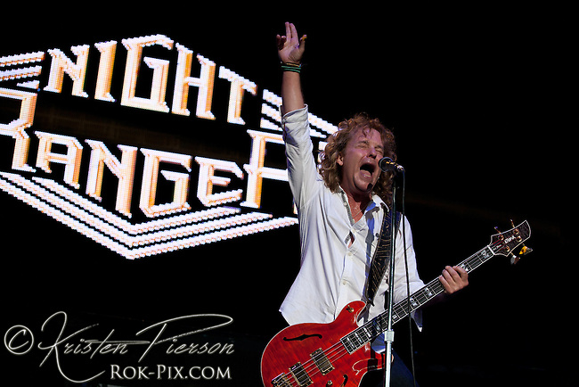 Night Ranger perform at Comcast Center in Mansfield, Massachusetts, on August 12, 2011