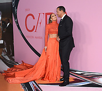 03 June 2019 - New York, New York - Jennifer Lopez and Alex Rodriguez. 2019 CFDA Awards held at the Brooklyn Museum. <br /> CAP/ADM/LJ<br /> ©LJ/ADM/Capital Pictures