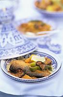 """Europe/France/Ile-de-France/Paris: Restaurant """"El Malouf"""" - Couscous au poisson"""