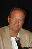 """Kelsey Grammer, Emmy award winning actor, speaks at a press availability as he rehearsed for the """"Concert for America"""" at the John F. Kennedy Center for the Performing Arts in Washington, DC on September 9, 2002..Credit: Ron Sachs / CNP.(RESTRICTION: NO New York or New Jersey Newspapers or newspapers within a 75 mile radius of New York City)"""