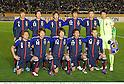 U-23Japan team group line-up (JPN), MARCH 14, 2012 - Football / Soccer : Japan team group shot (Top row - L to R) Hiroki Sakai, Daisuke Suzuki, Yuki Otsu, Mizuki Hamada, Takahiro Ogihara, Shuichi Gonda, (Bottom row - L to R) Yusuke Higa, Keigo Higashi, Genki Haraguchi, Hiroshi Kiyotake and Hotaru Yamaguchi before the 2012 London Olympics Asian Qualifiers Final Round Group C match between U-23 Japan 2-0 U-23 Bahrain at National Stadium in Tokyo, Japan. (Photo by Takamoto Tokuhara/AFLO)