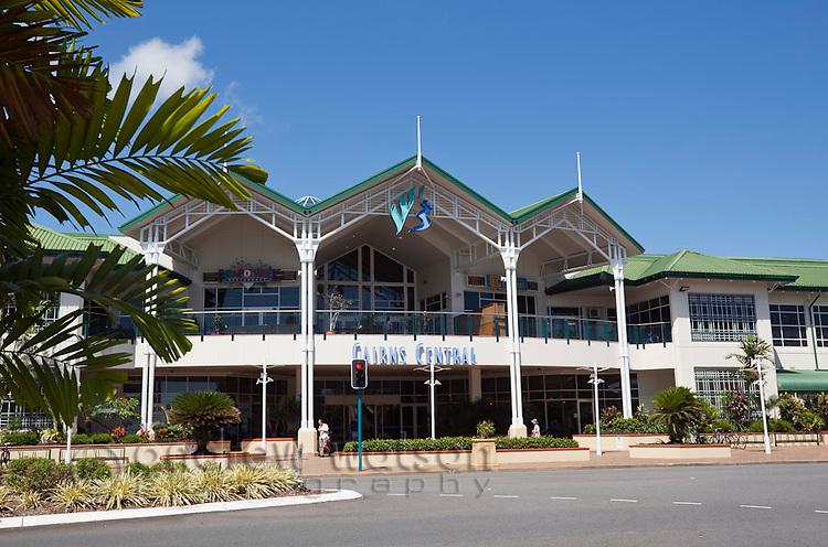 Cairns Central shopping centre.  Cairns, Queensland, Australia