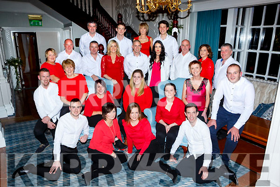The contestants for the Rathmore Strictly Come Dancing which will be held in the INEC on the 7th December at the launch in the Killarney Avenue Hotel on Wednesday night front row l-r: George O'Keeffe, Ann Marie O'Connell, Eileen Houlihan, Michael  Anthony Kelleher Second row: TJ O'Sullivan,Tina Reen, Katie Murphy, Amy Murphy, Lorraine O'Brien Joanna Hughes, Padraig Cronin, Middle row: Irene Cremin, Donal Rahilly, Sean cronin, Aoife O'sullivan, James Burke, Katie Moynihan, Tim reen, Kathleen Dennehy, . Back row: Danny Roche, James O'Donoghue, Paul Hanrahan, Noreen Jenkins, Diarmuid Coakley,
