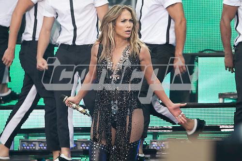 Jennifer Lopez - performing live at the Sound of Change Live cocnert held at Twickenham Stadium in Surrey UK - 01 Jun 2013.  Photo credit: John Rahim/Music Pics Ltd/IconicPix